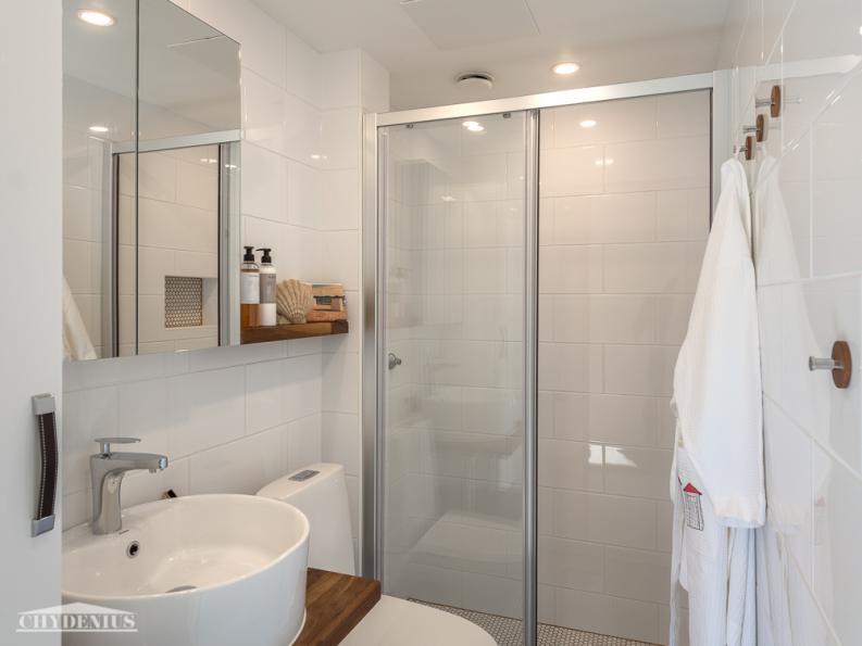 Kylpyhuone on raikas